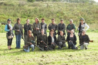 gruppebillede af team tøs 1